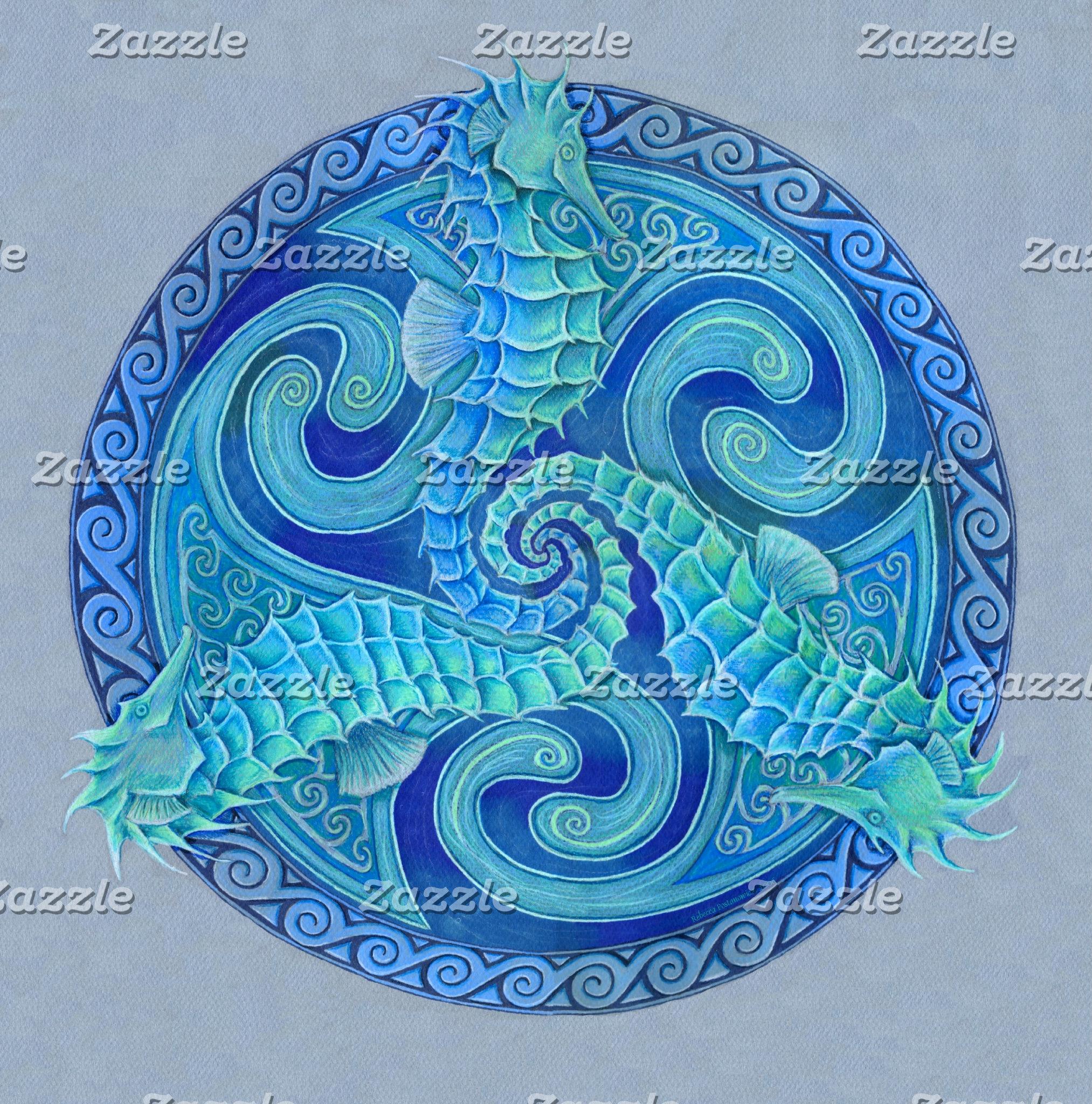 Seahorse Triskele