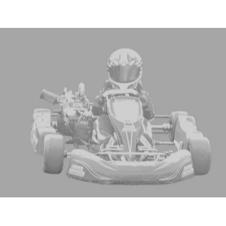 Kart Racer in gray