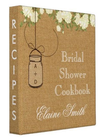 Bridal Shower Recipe Books