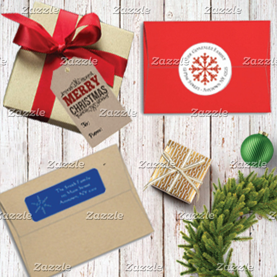 Holiday Labels, Stickers & Tags