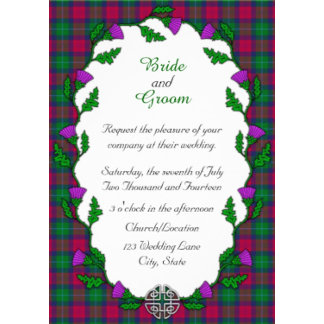 Celtic Weddings With Thistle
