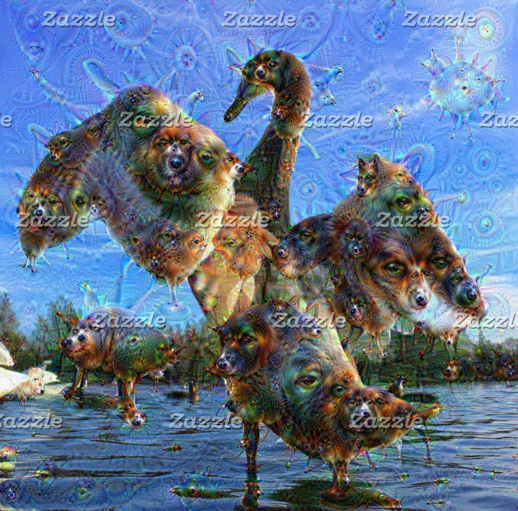 DeepDream Creatures ...