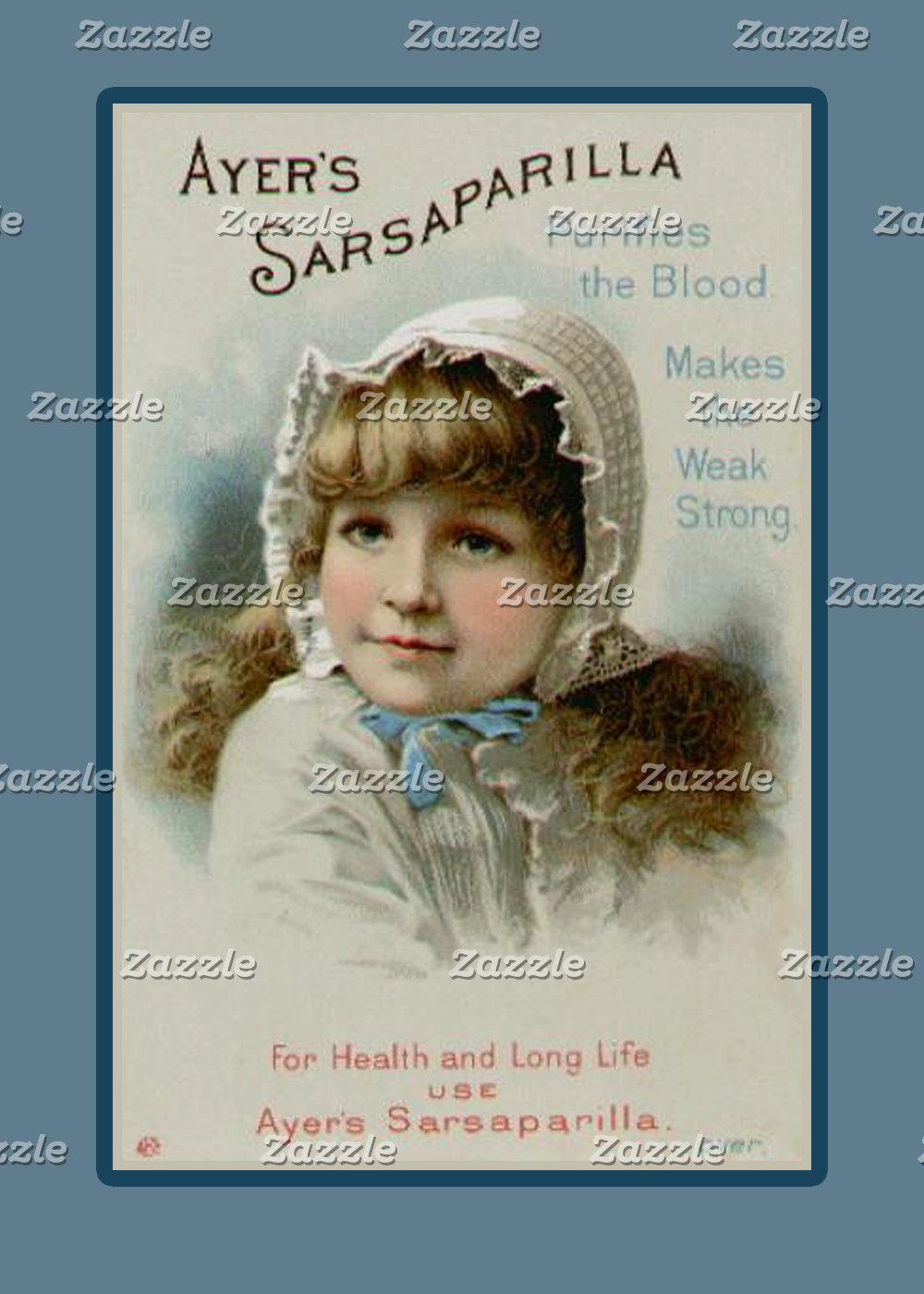 Antique Vintage Art on Cards