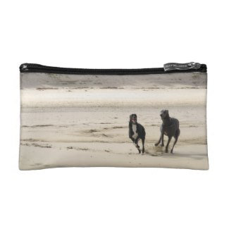 Greyhound makeup bag