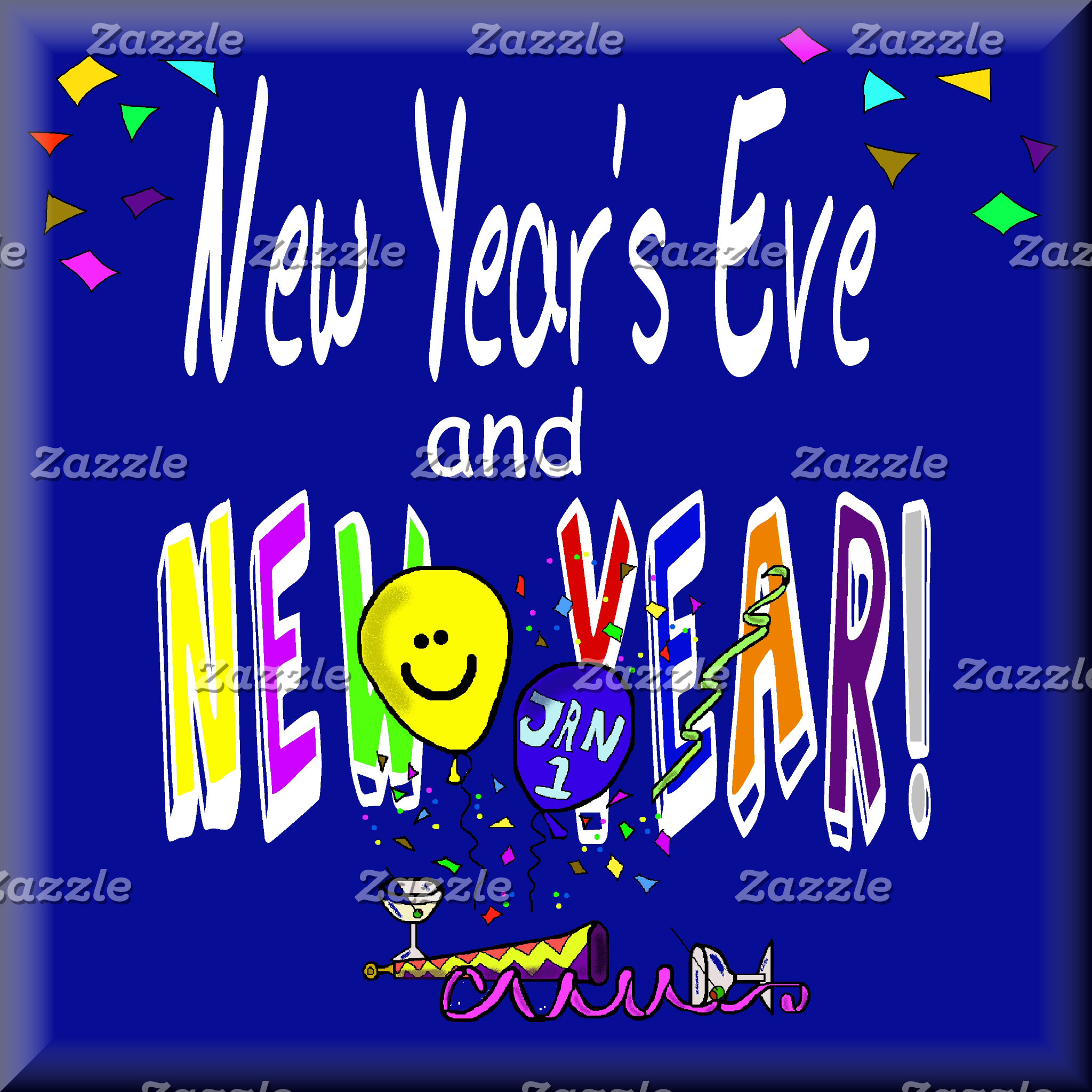 NEW YEAR's EVE & NEW YEAR!