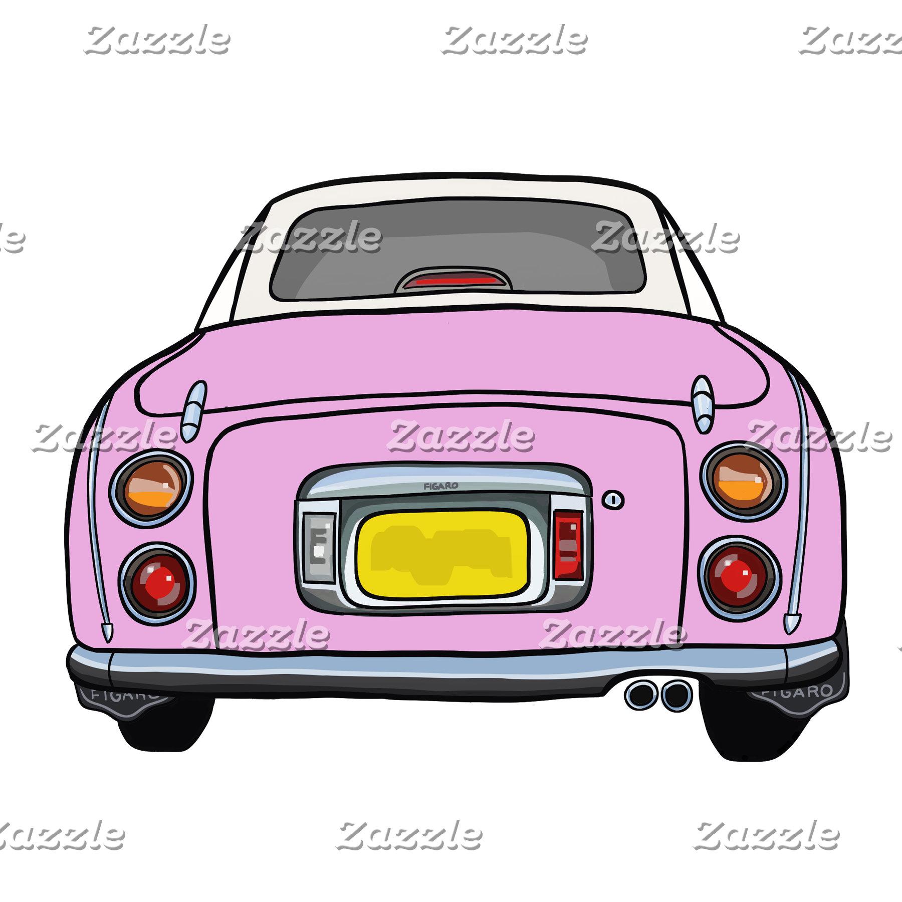 Pink Figaro Car