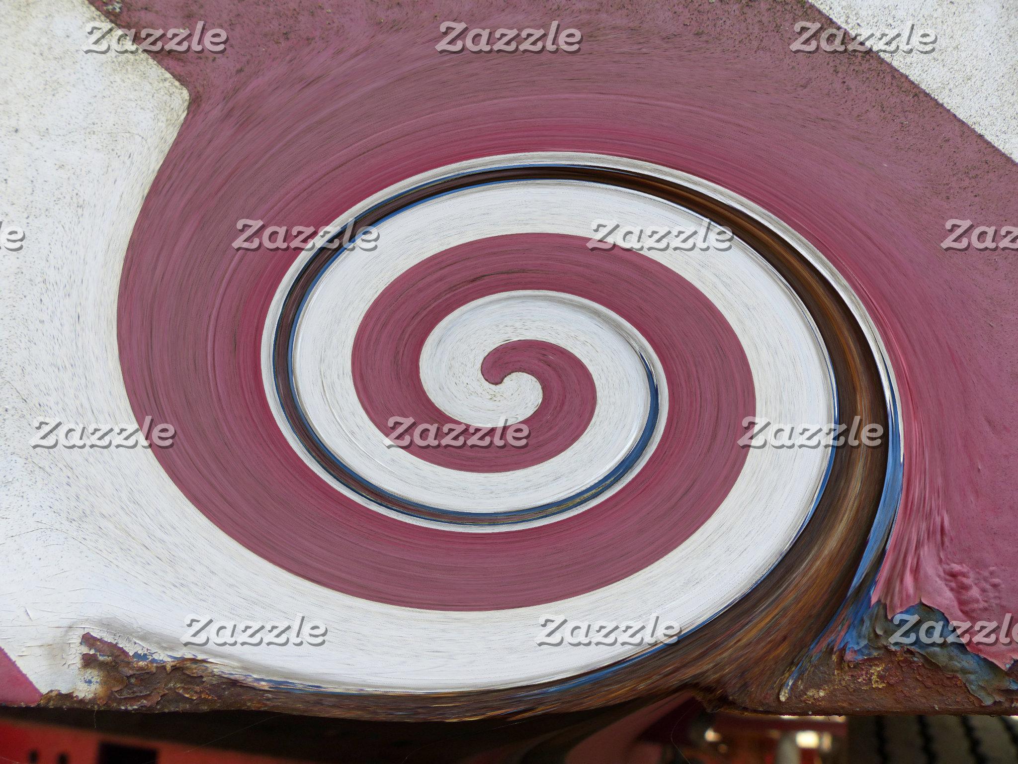 Swirl-Rust, Rust-Art, ROSTart