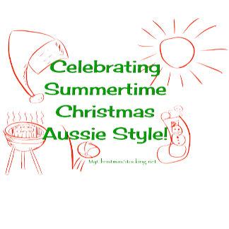 Celebrating Summertime Christmas