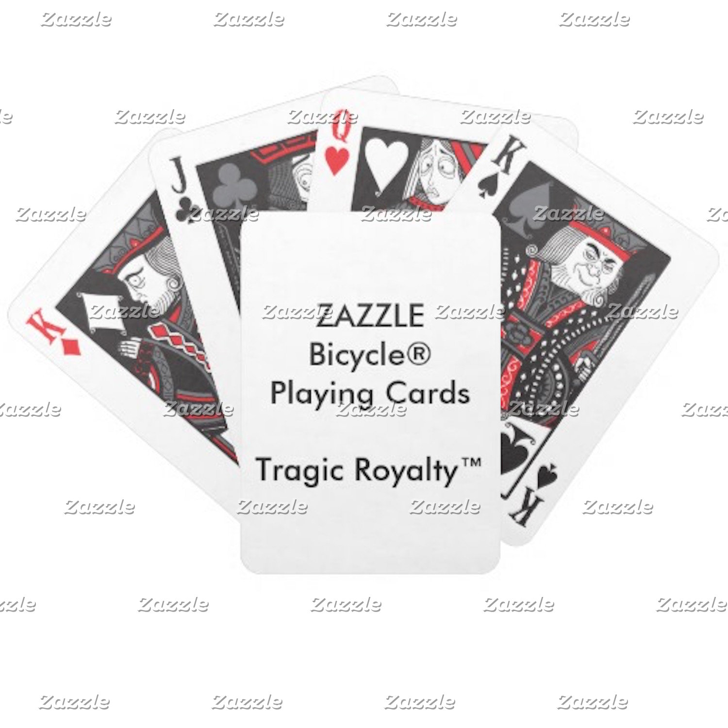 Bicycle® Tragic Royalty™