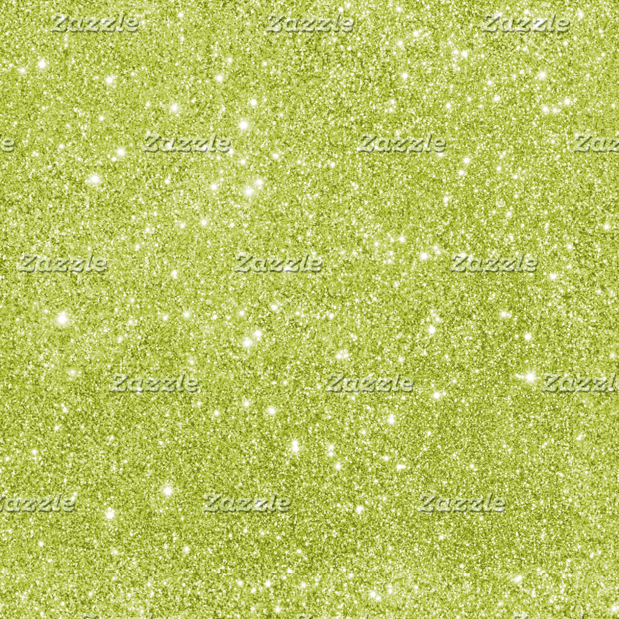 Glitter - Lime Green
