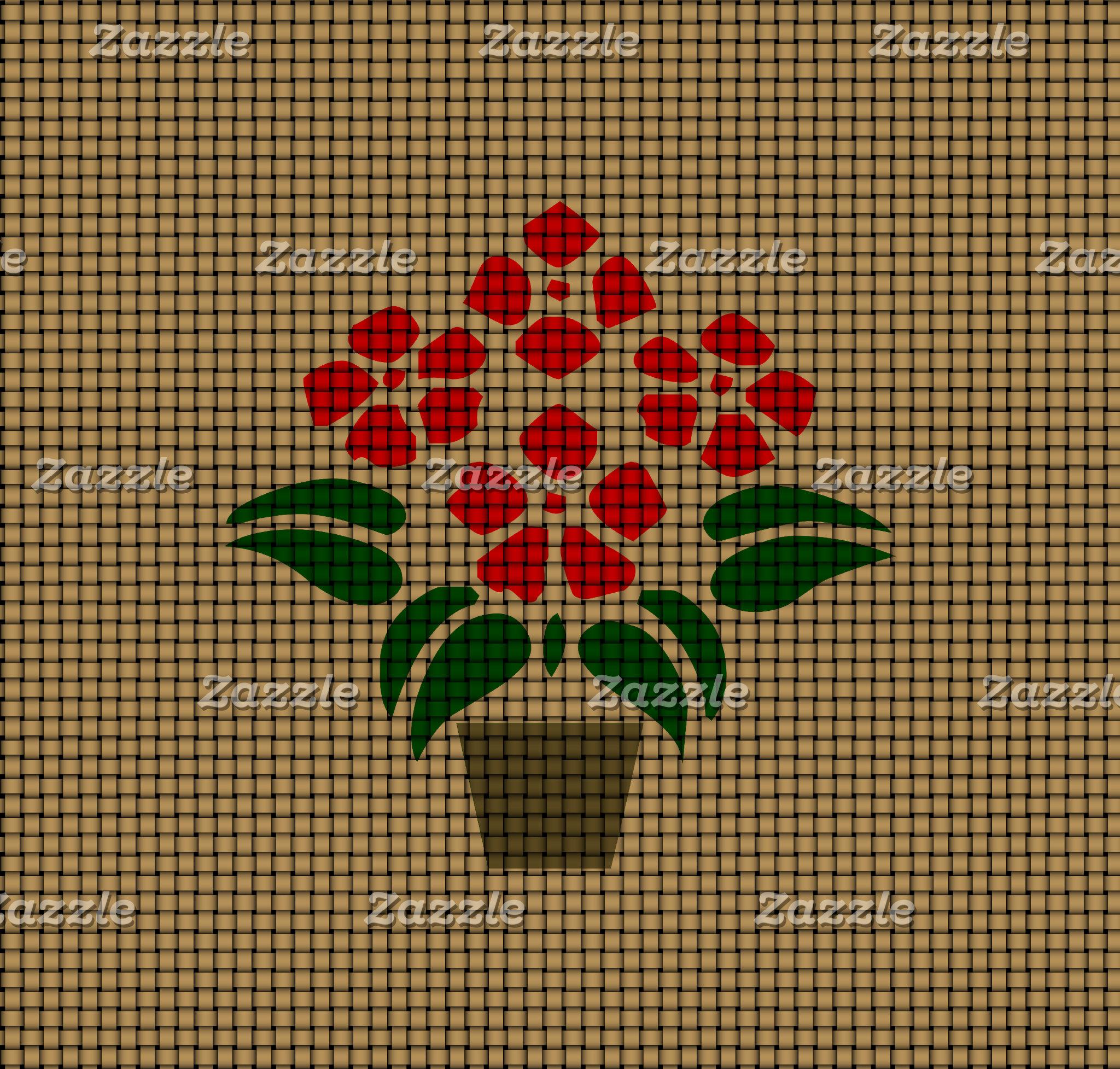 Flowers Poincetta