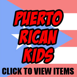 Puerto Rican Baby, Toddler and Kid Designs