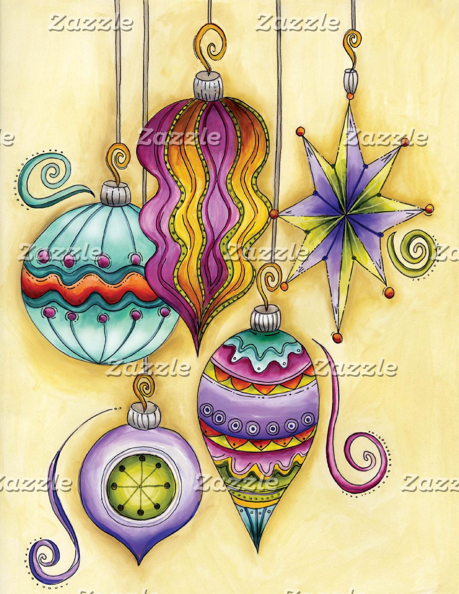 Christmas Symbols and Characters