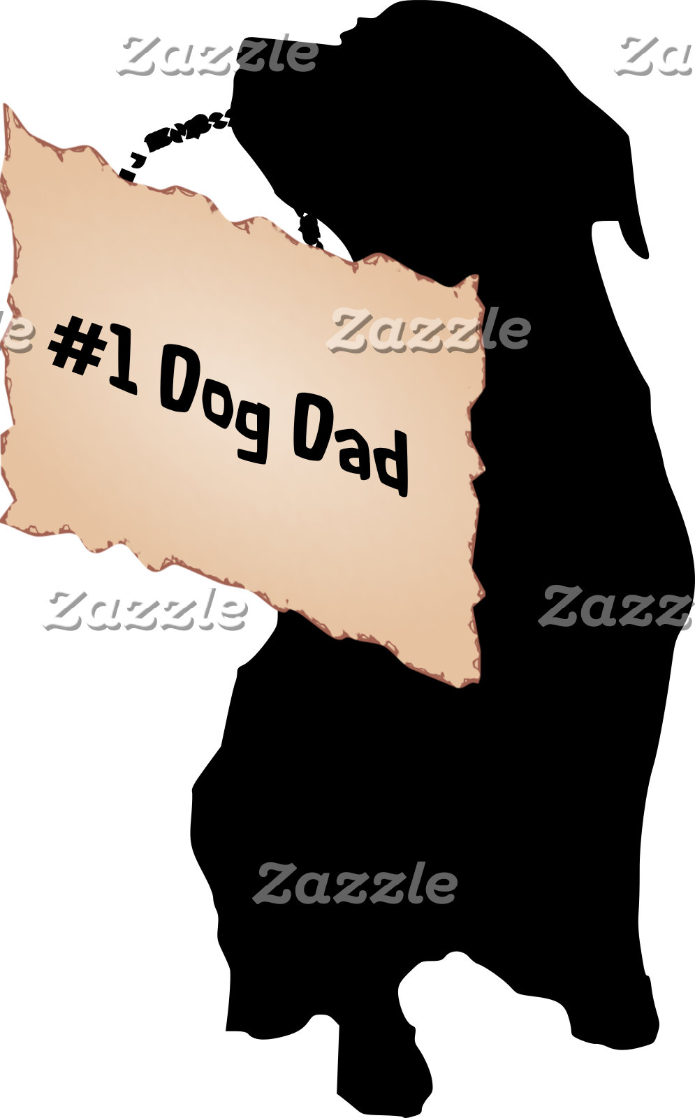 Number 1 Dog Dad