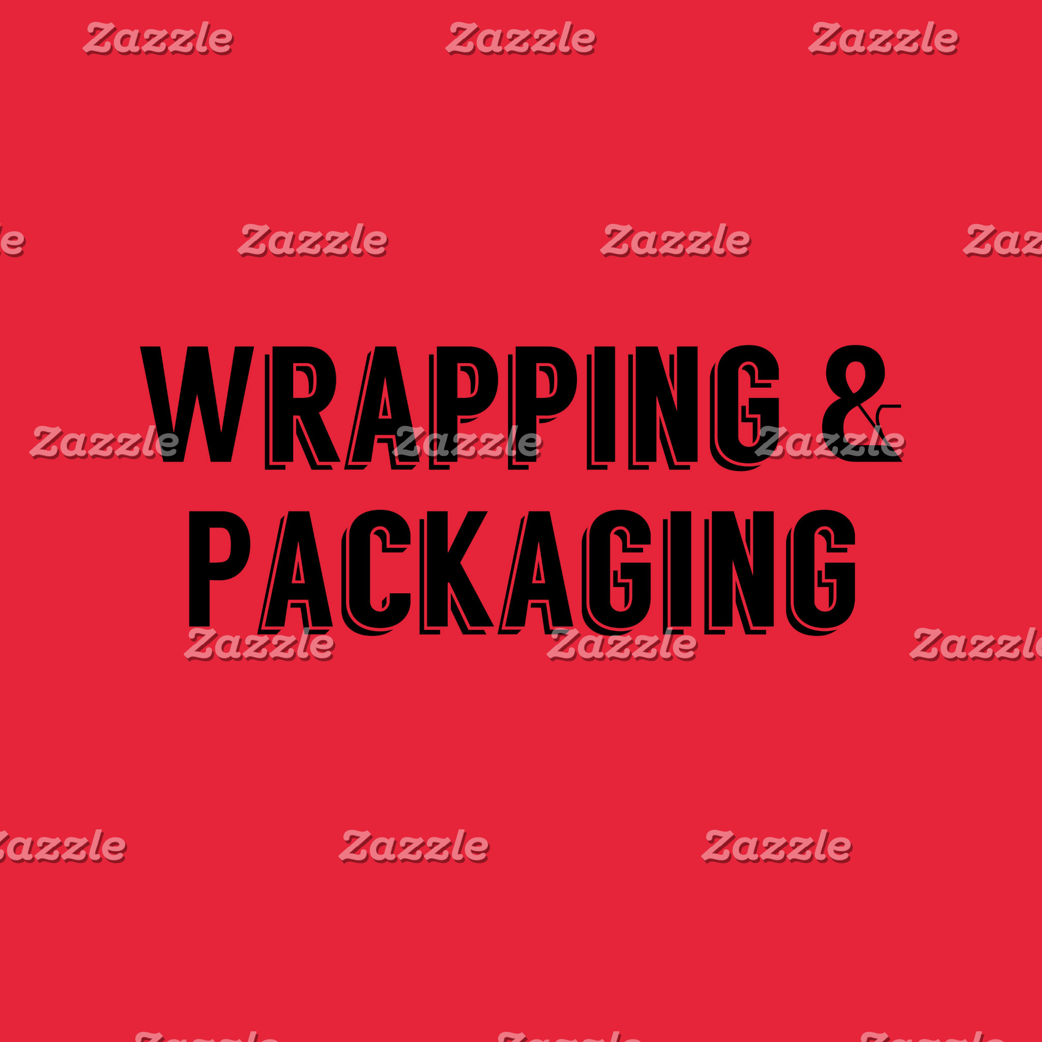 Packaging, Boxes, Bags & Wrapping paper