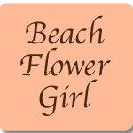 Beach Flower Girl