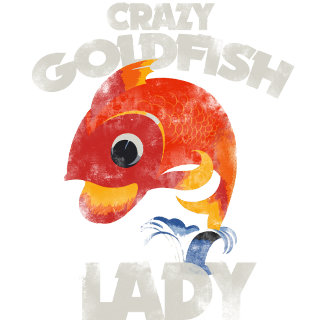 Crazy Goldfish Lady