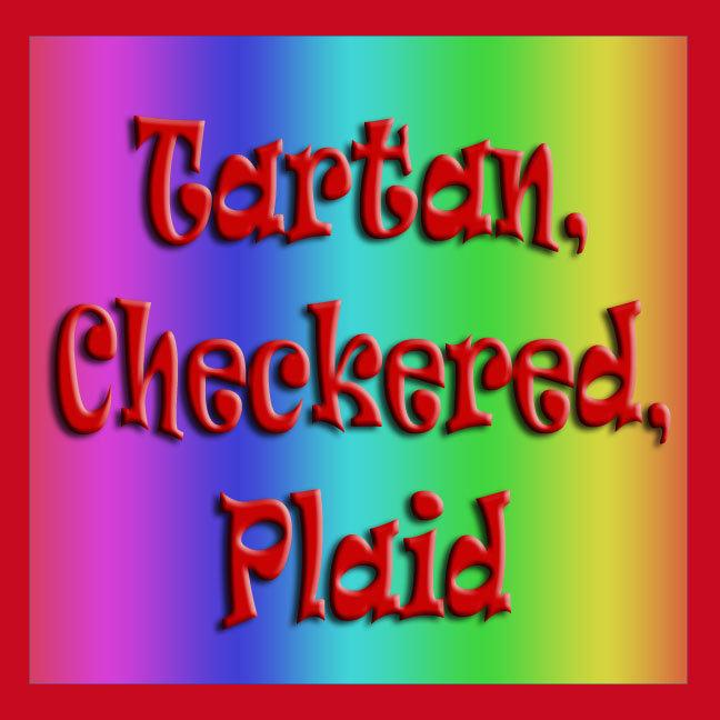Tartan, Checkered, Plaid