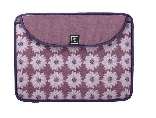 Lilac Flowers on Purple