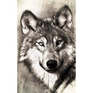 Wolf Hand Drawn Art