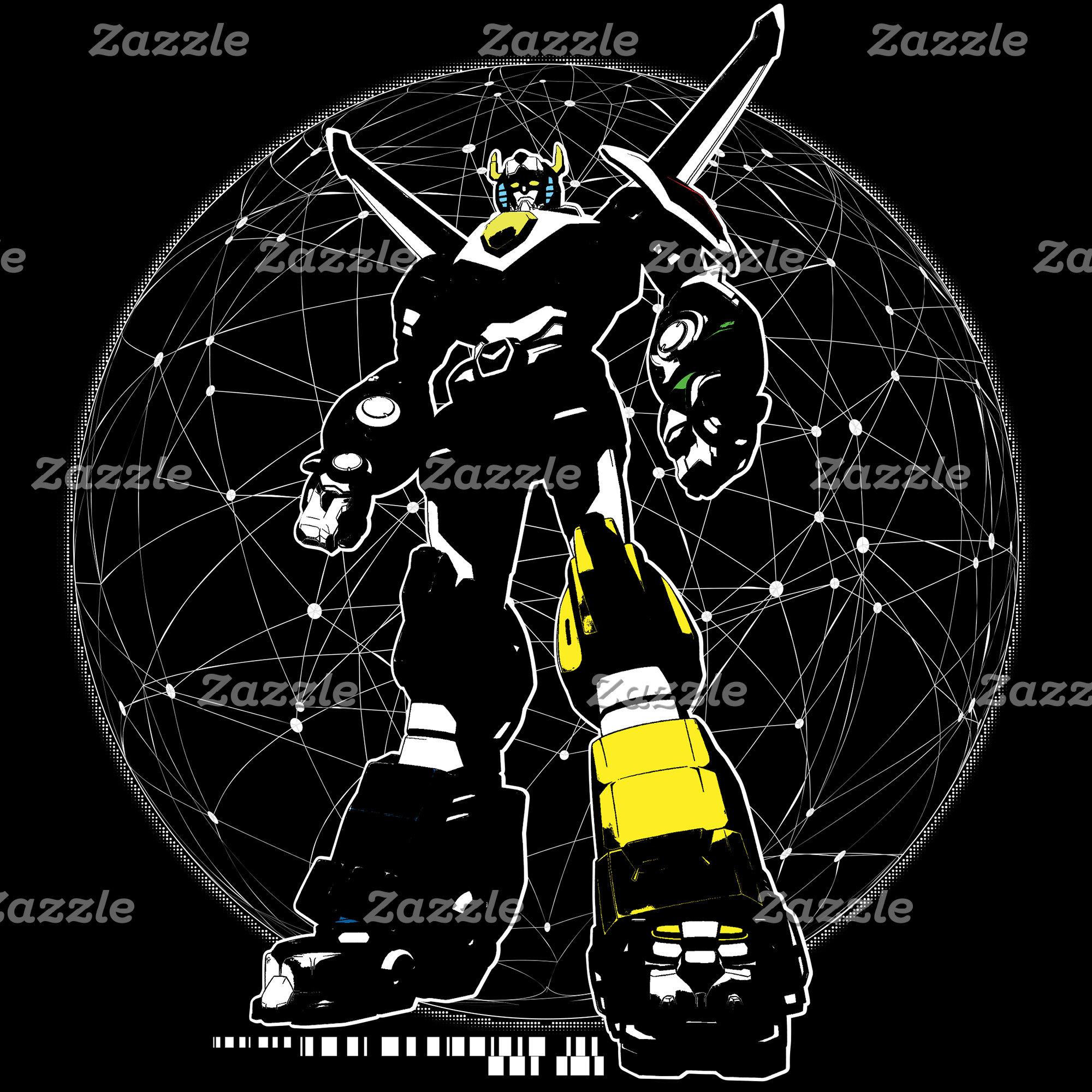Voltron   Silhouette Over Map