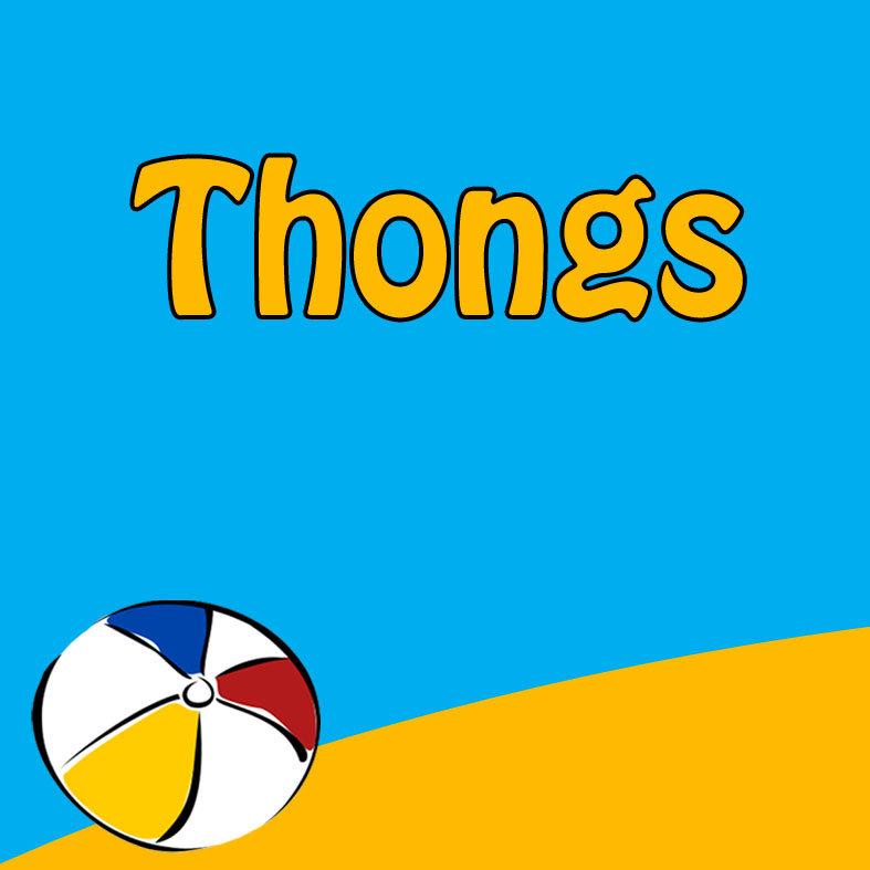 Thongs