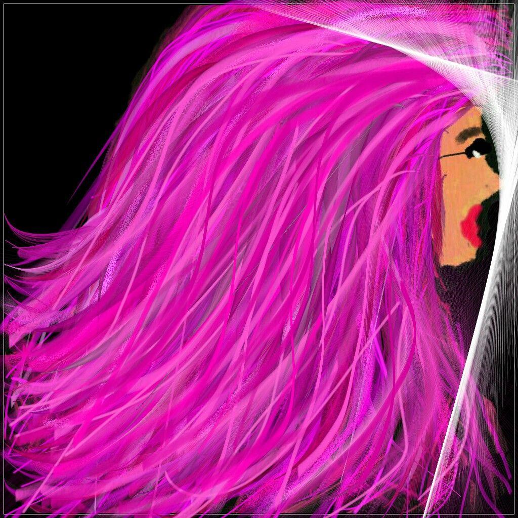 Pink Hair Lady
