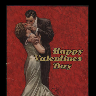 Happy Vintage Valentines Day