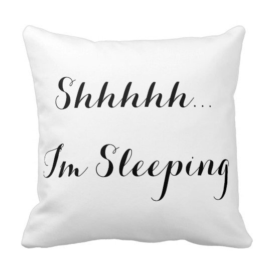 Typography Throw Pillows