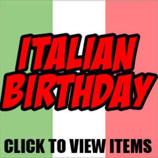 Italian Birthday Gifts