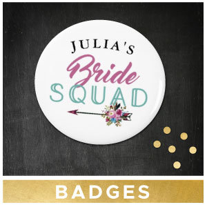 Bridal Shower Badges