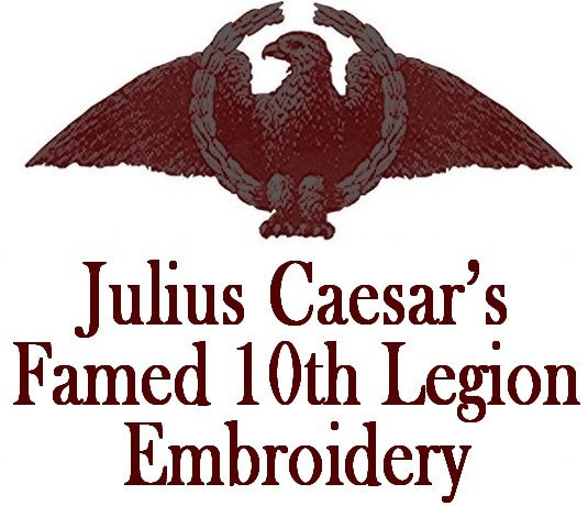 Julius Caesar's Famed 10th Legion Embroidery