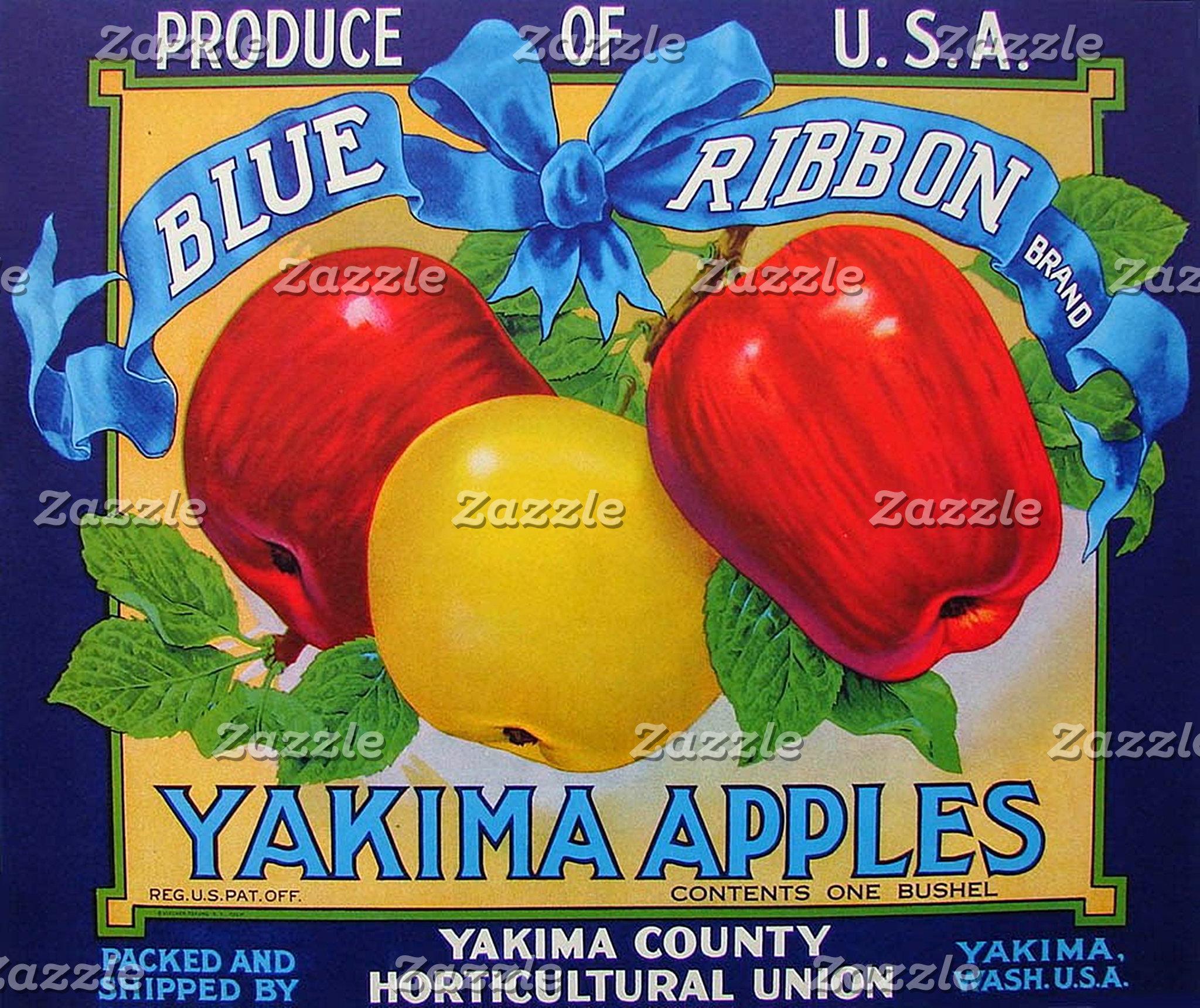 Fruit Crate Labels