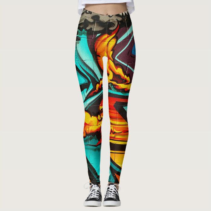 Graffiti Streetwear Leggings
