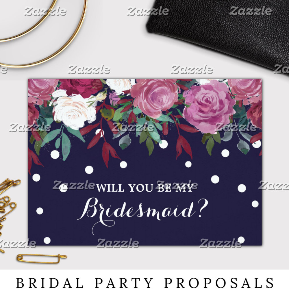 Bridal Party Gifts & Proposals