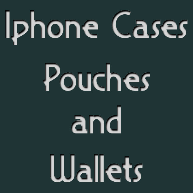 iPhone Cases-Pouches-Wallets
