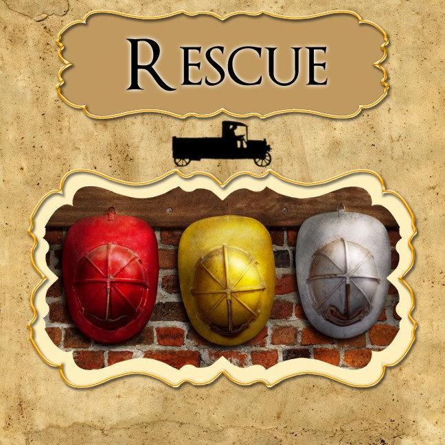 - Job - Fireman, Rescue, Police