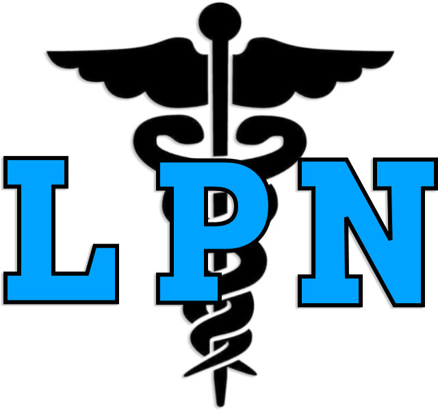 AN LPN Nurse Medical Symbol