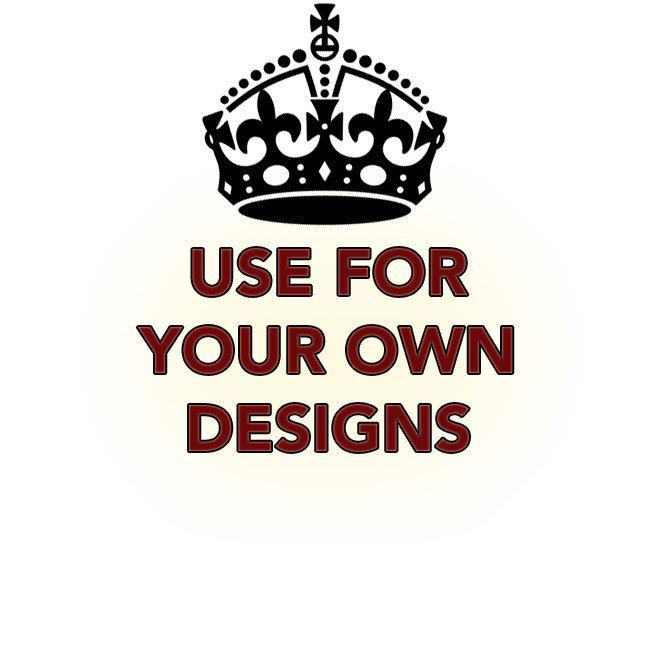 Keep Calm Crown Template