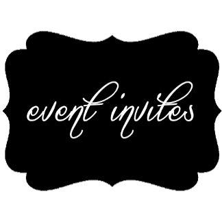 Event Invites & Stationery