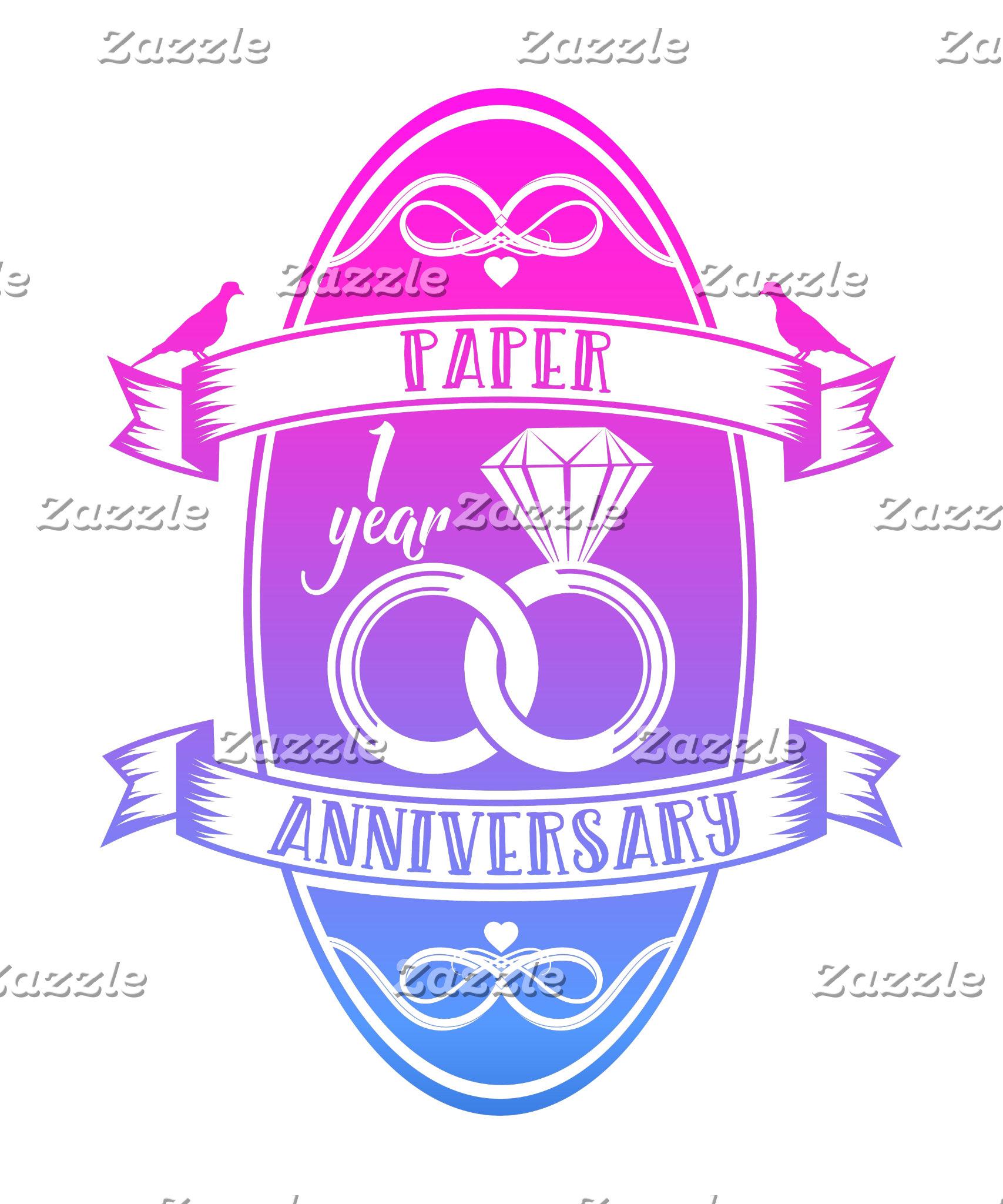 Gradient anniversaries