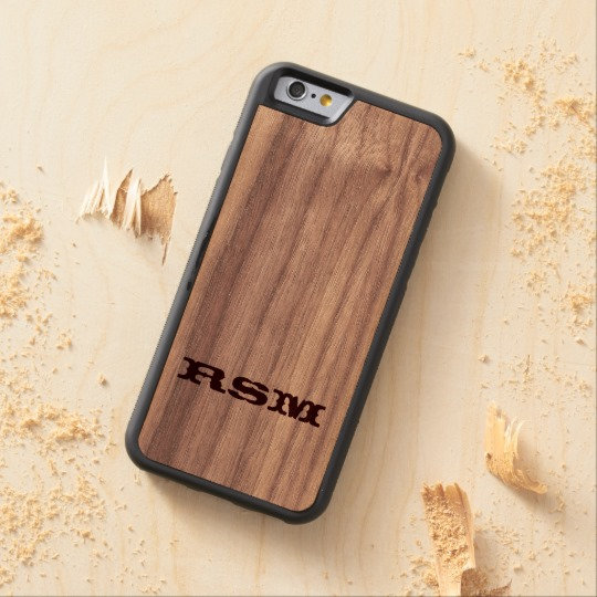 A real wood case