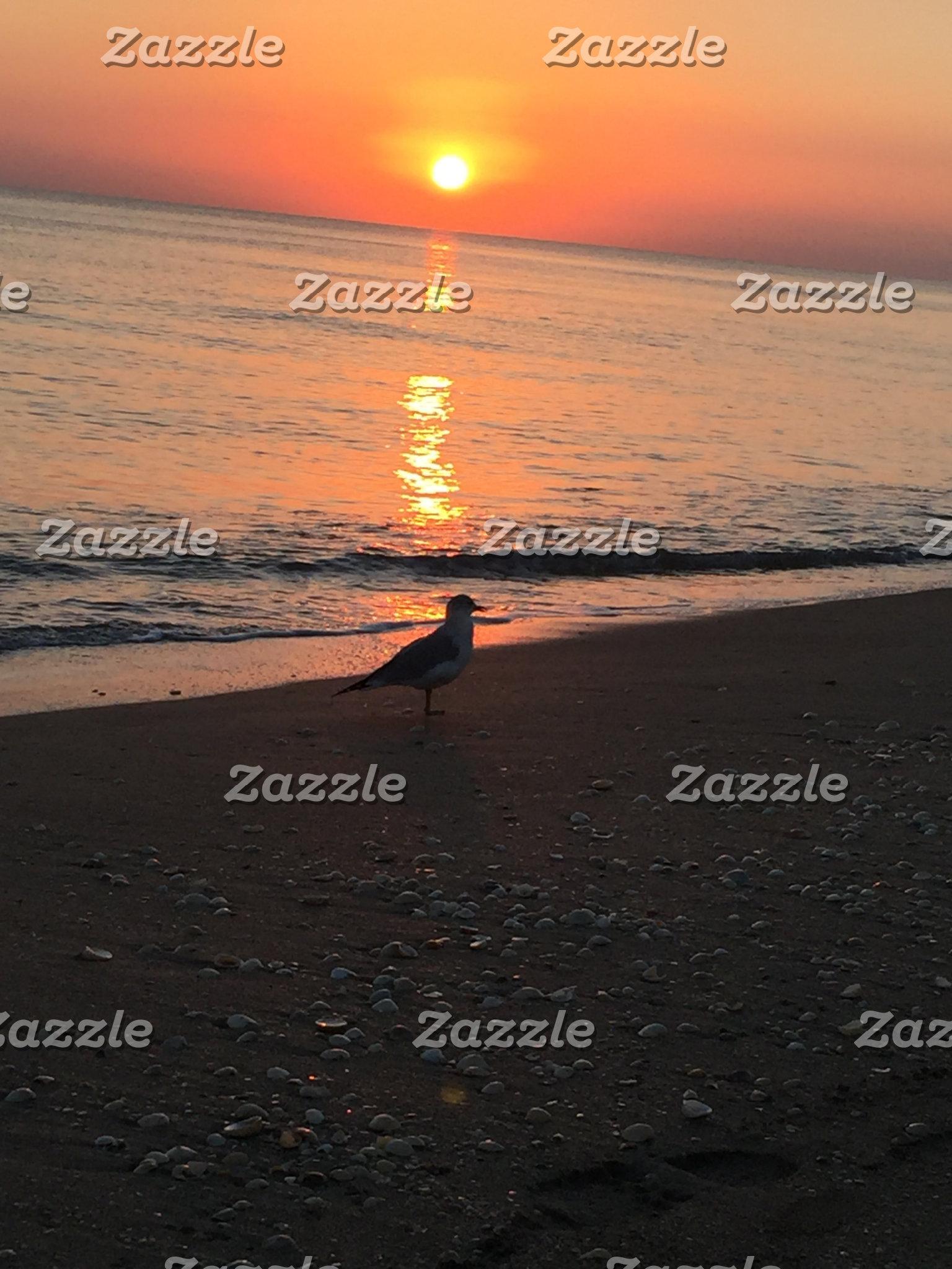A Beach Sunrise