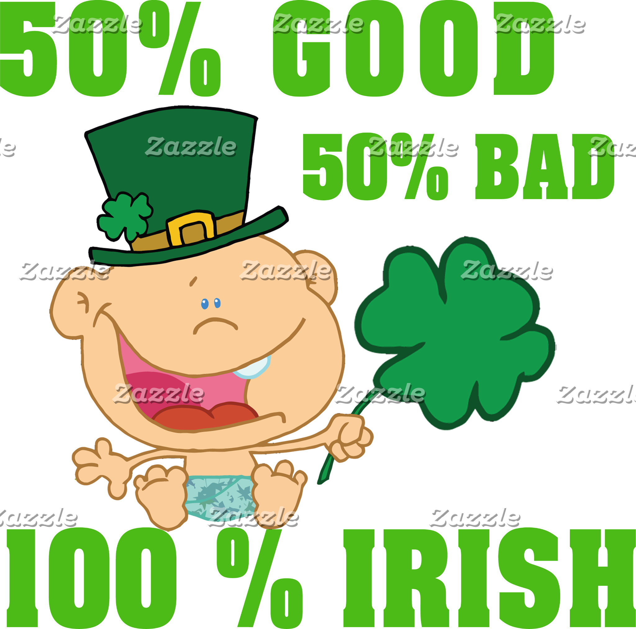 Funny Irish Toddler Baby T-Shirts Gifts