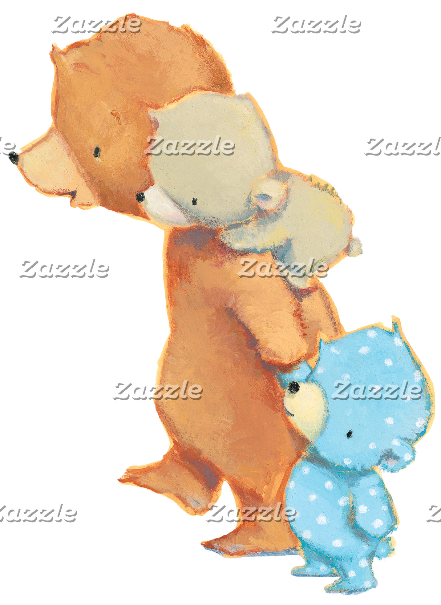 Three Adorable Bear Friends
