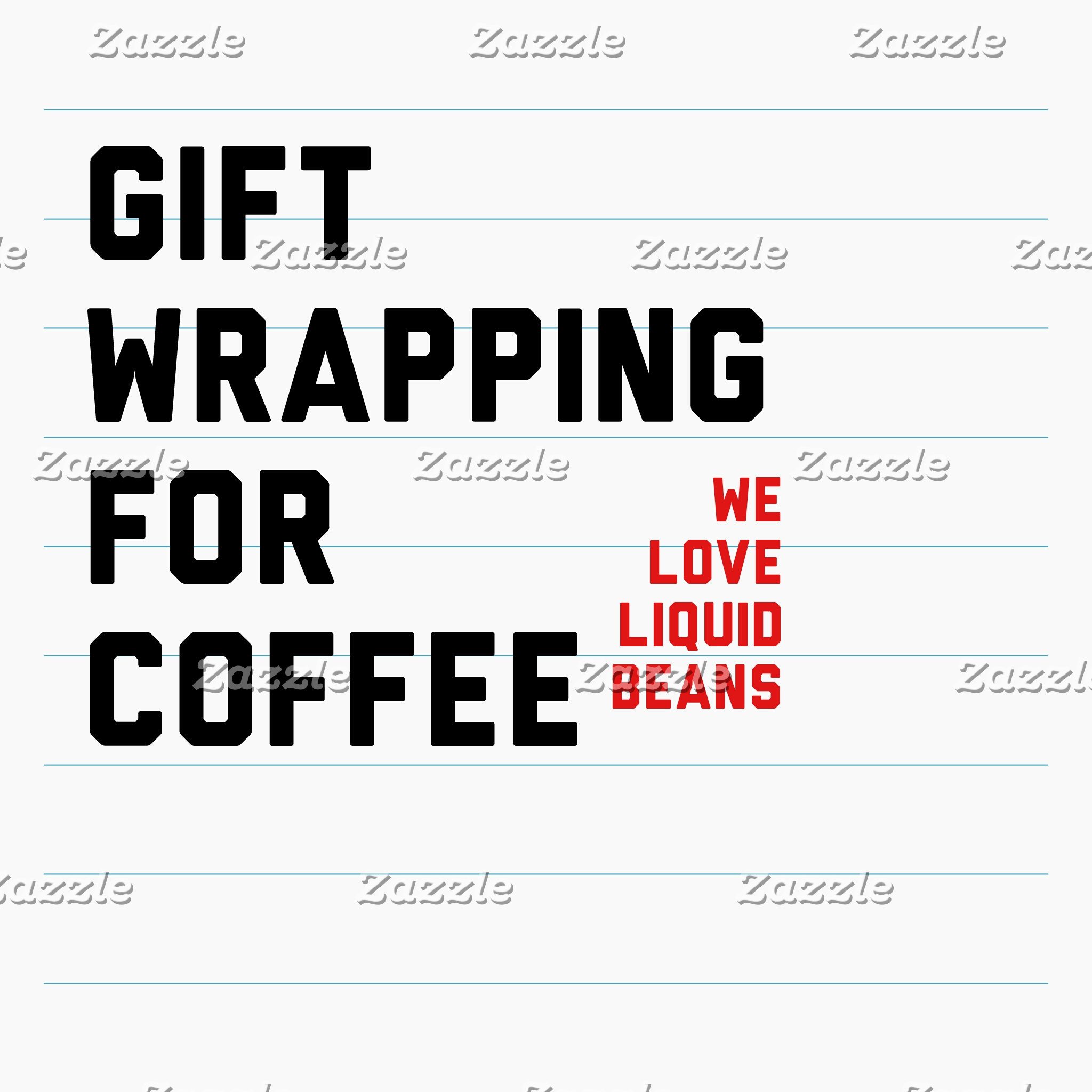 Coffee Gift Wrap's