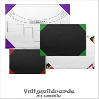 #Casino Mats, Table Game, Felt Layout Placemats