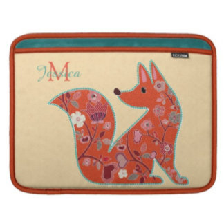 Folk Art Flower Fox
