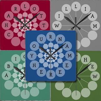 Name Clocks