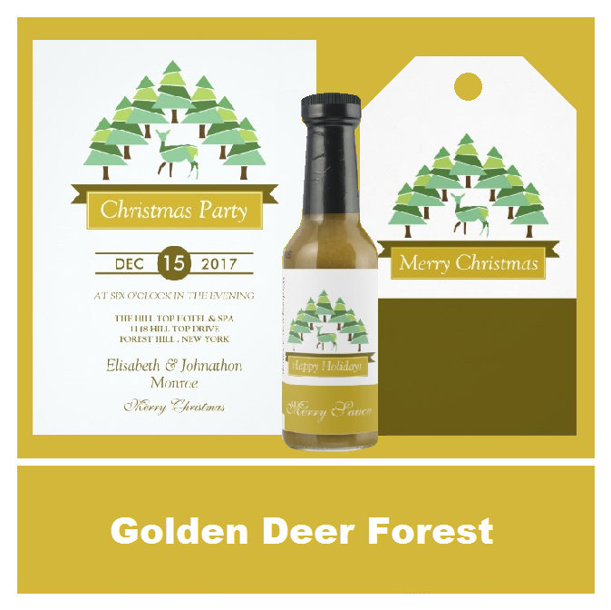 Golden Deer Forest